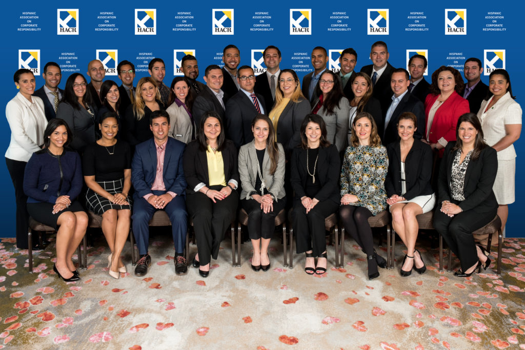 Group photo at HACR event