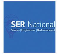 Service, Employment, Redevelopment logo